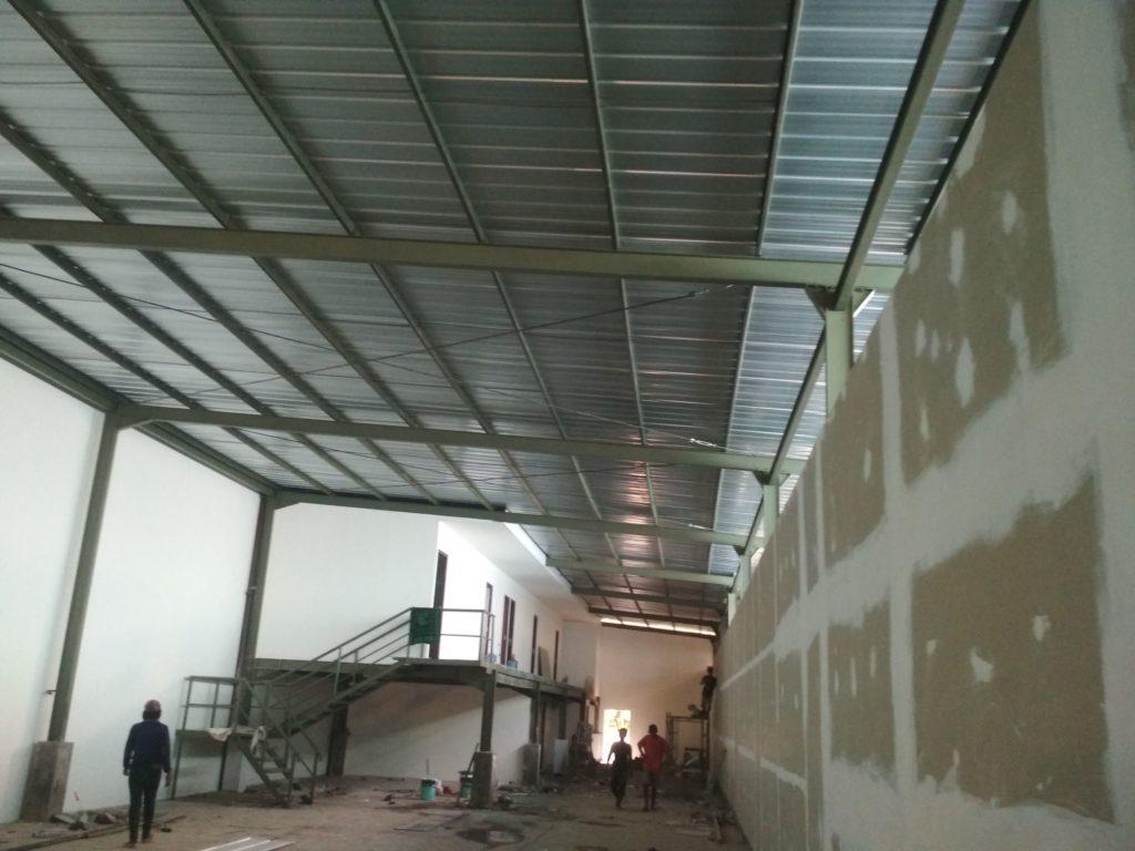 Konstruksi Baja Wf 2 Lantai Di Kota Bekasi Hubungi 0859 5902 0918 0877 2466 7689 Abdi Remaja Contractor